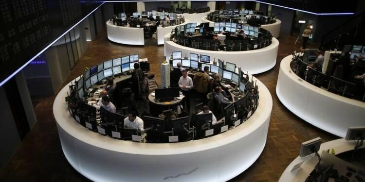 Les Bourses européennes en baisse dans les premiers échanges