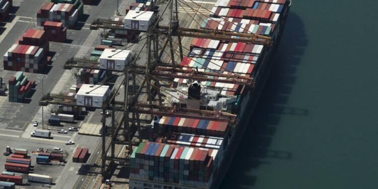 Recul du déficit commercial des Etats-Unis avec les importations