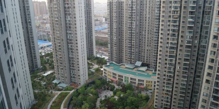 Les prix immobiliers chinois en hausse de 4,9% sur un an en mars