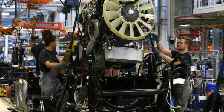 La production industrielle allemande augmente moins que prévu