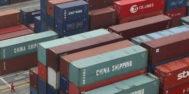 Baisse plus marquée que prévu des exportations chinoises