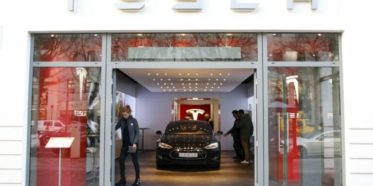 Tesla affecté par des pénuries de pièces au 1er trimestre
