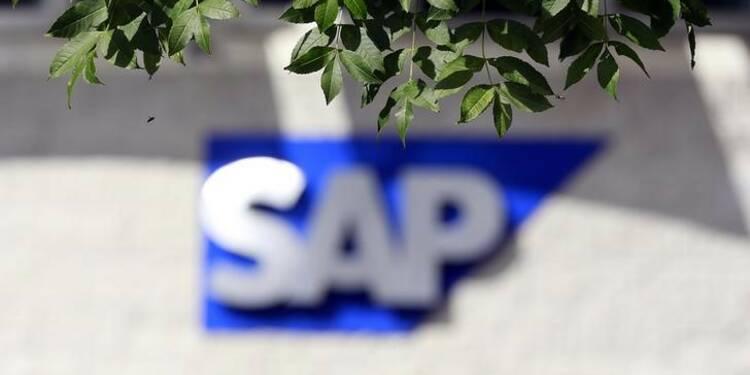 SAP annonce un bénéfice en hausse au 1er trimestre