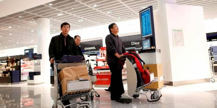 Chute inédite des achats des touristes chinois dans le luxe