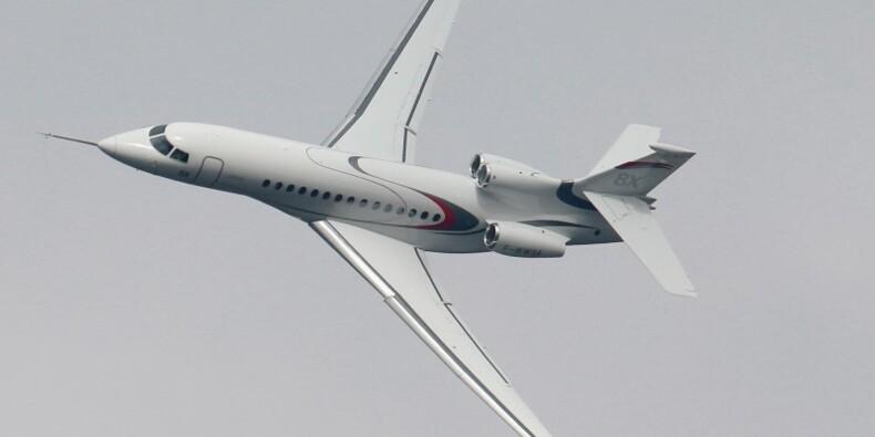 Dassault Aviation pâtit de la baisse des livraisons de Falcon
