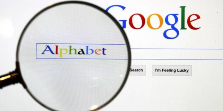 Alphabet fait mieux que prévu, record en vue en Bourse