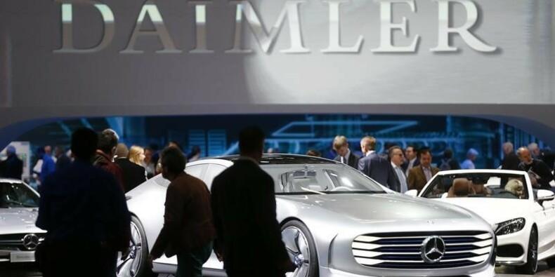 Nouvelle plainte en nom collectif action contre Daimler aux USA