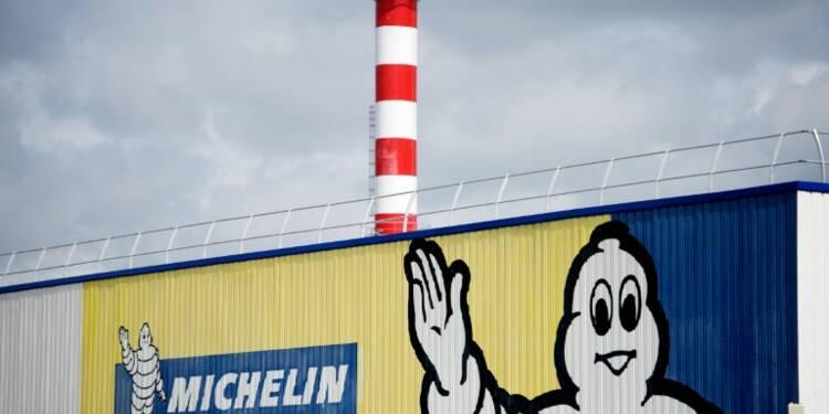 Michelin reste en tête d'un sondage de réputation du CAC 40
