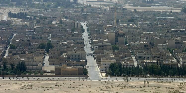 L'armée syrienne est entrée dans Palmyre