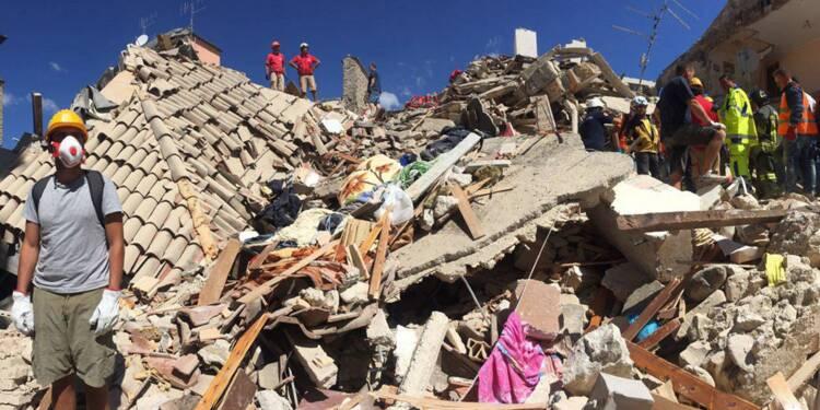 Séisme en Italie : au moins 247 morts, 235 millions d'euros débloqués