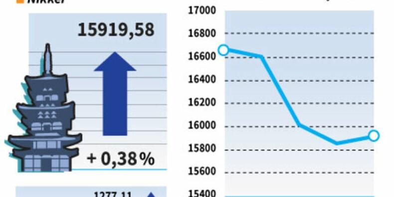 La Bourse de Tokyo interrompt sa série baissière