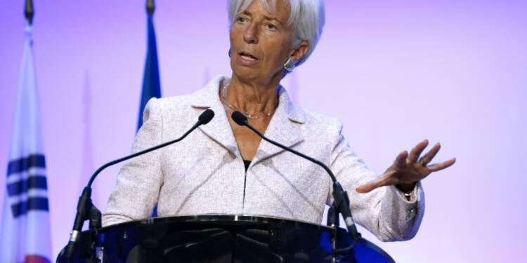 """Les Européens doivent sortir du Brexit """"par le haut"""", pour Christine Lagarde"""