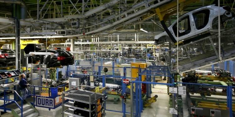 La production industrielle allemande baisse moins que prévu en mars