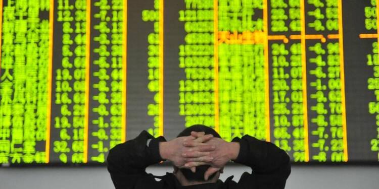 Les Bourses chinoises rechutent au plus bas depuis 14 mois