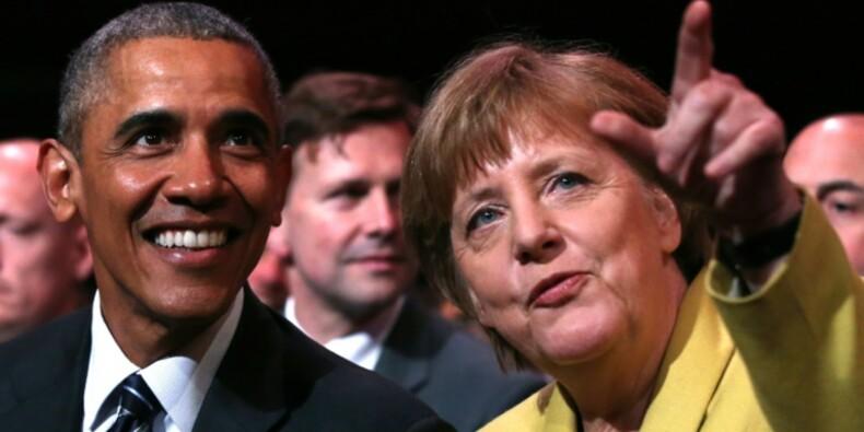 A Hanovre, Obama plaide pour un accord de libre-échange Etats-Unis-UE