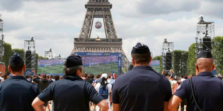 Sécurité maximum pour la finale de l'Euro2016 de football