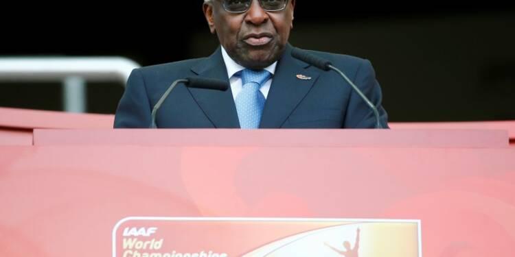 L'ex-président de l'IAAF nie avoir financé la campagne de Sall