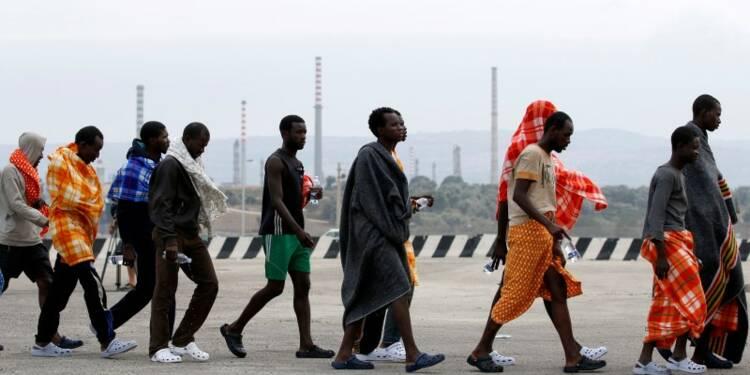 Augmentation des arrivées de migrants en Italie