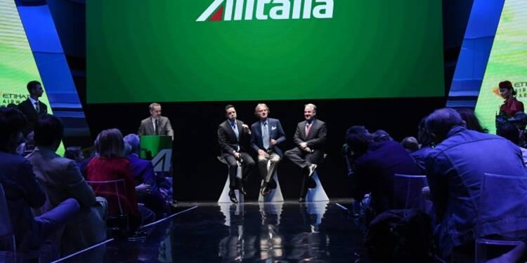 Alitalia: rétablissement en cours, retour au bénéfice confirmé pour 2017