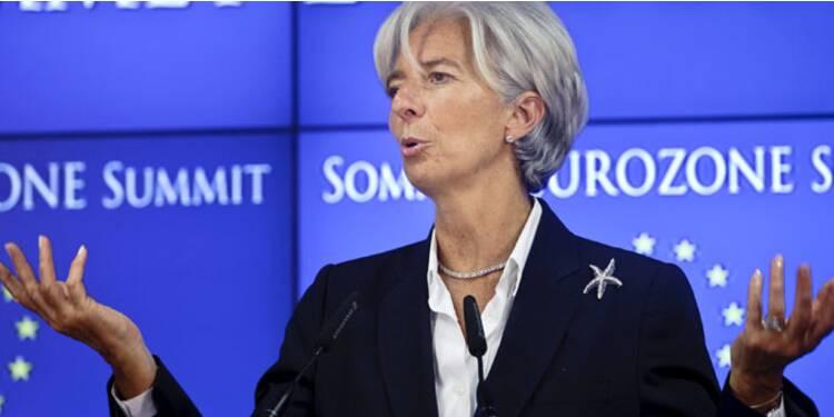 Christine Lagarde ne paie pas d'impôts sur ses généreux revenus du FMI