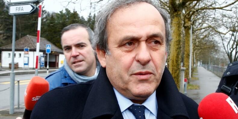 Suspension confirmée pour Platini, qui démissionne de l'UEFA