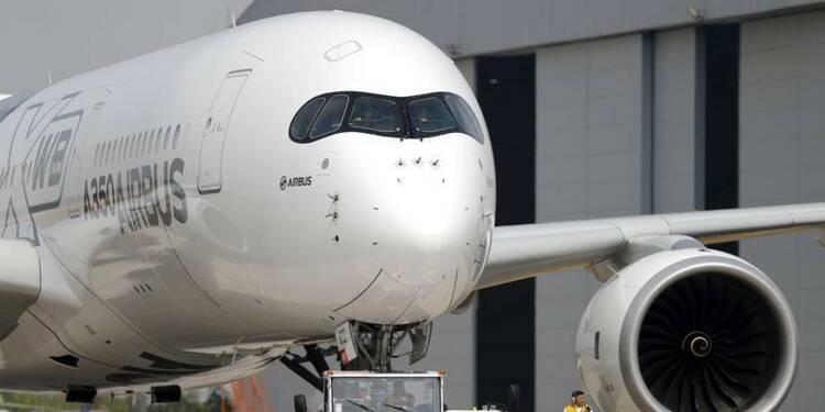 La FAA certifie l'A350 pour des vols de déroutement plus longs