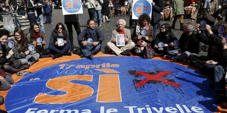 Echec du référendum sur les forages pétroliers en Italie