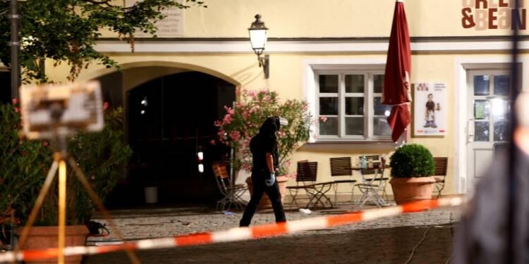 Un Syrien se fait sauter en Bavière, 12 blessés