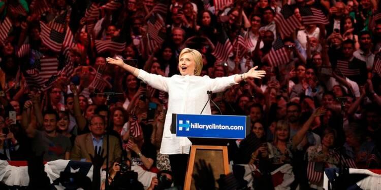 Hillary Clinton revendique la victoire aux primaires démocrates