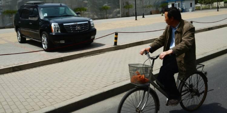 Les Chinois s'enflamment toujours pour les 4x4 urbains, gage de sécurité à leurs yeux