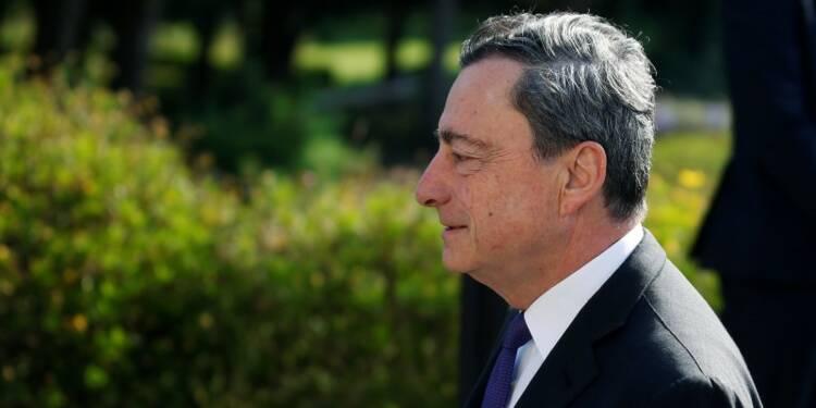 Draghi prône une coordination accrue des politiques économiques