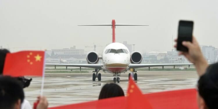 Premier vol commercial pour l'avion chinois ARJ21