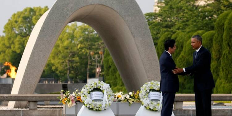A Hiroshima, Barack Obama plaide pour la dénucléarisation