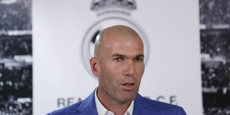 Zinédine Zidane nommé entraîneur du Real Madrid