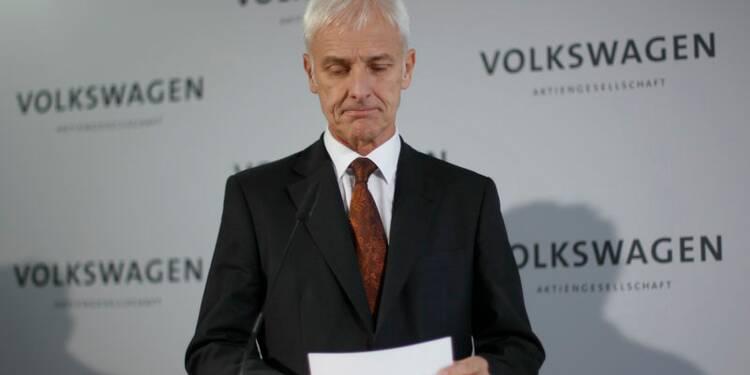 Le patron de Volkswagen nomme sa nouvelle équipe