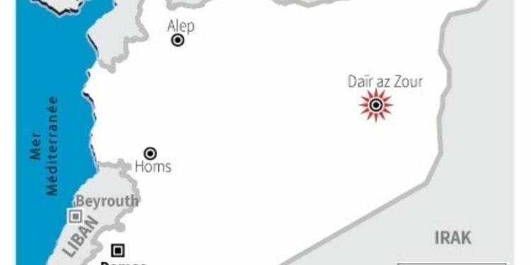 Offensive de l'EI à Daïr az Zour en Syrie