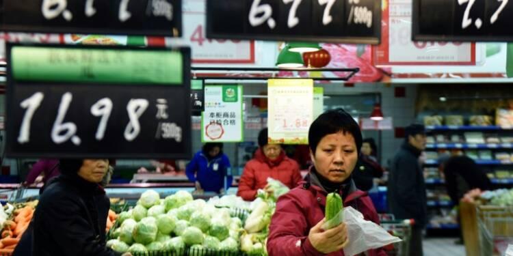 Chine: violente accélération de l'inflation à 2,3% en février