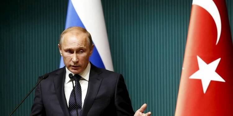 Poutine ordonne des représailles économiques contre la Turquie