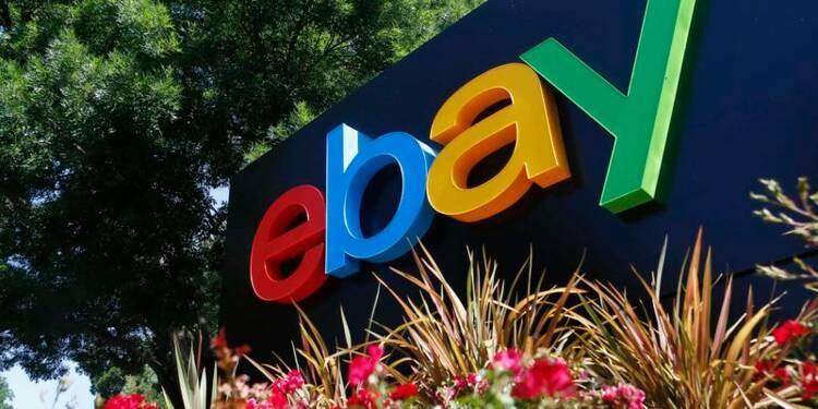 Bénéfice et CA d'eBay meilleurs qu'attendu