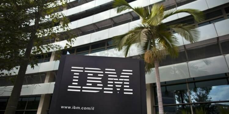 """IBM bat le consensus, l'essor du """"cloud"""" commence à payer"""