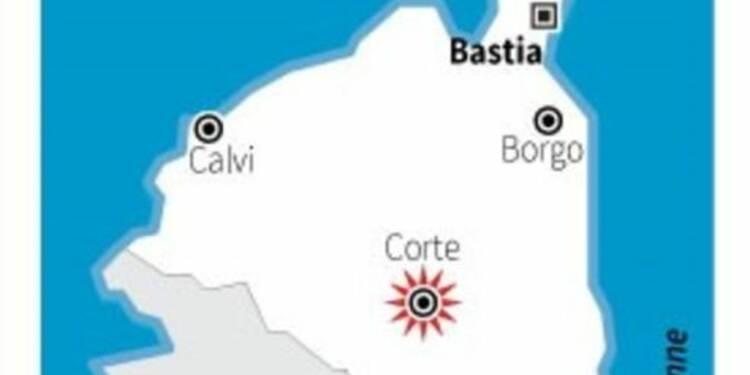 Une manifestation dégénère à Corte, en Corse