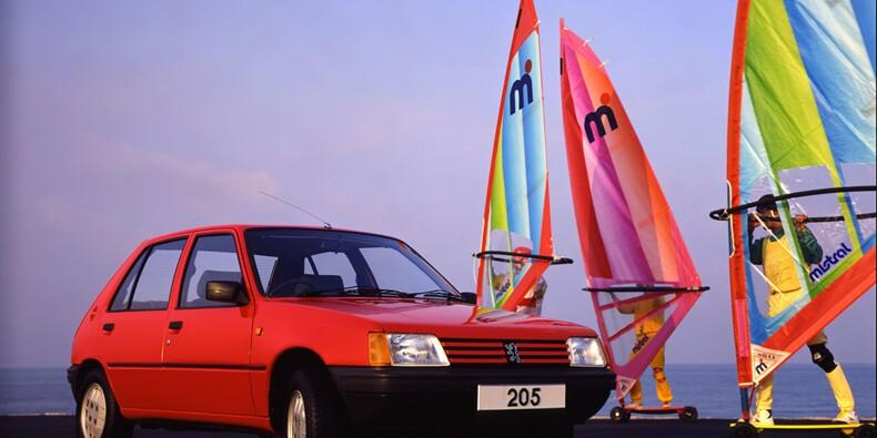 Peugeot 205, 1983 : Le numéro gagnant du Lion de Sochaux