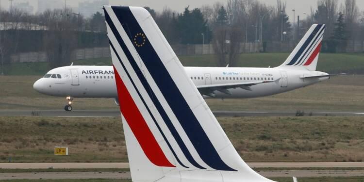 L'intersyndicale d'Air France proteste contre le nouveau plan