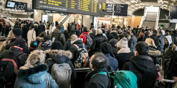 Grève : journée noire pour les usagers de la SNCF