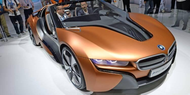 Voiture autonome: BMW va annoncer une coopération avec Intel et Mobileye