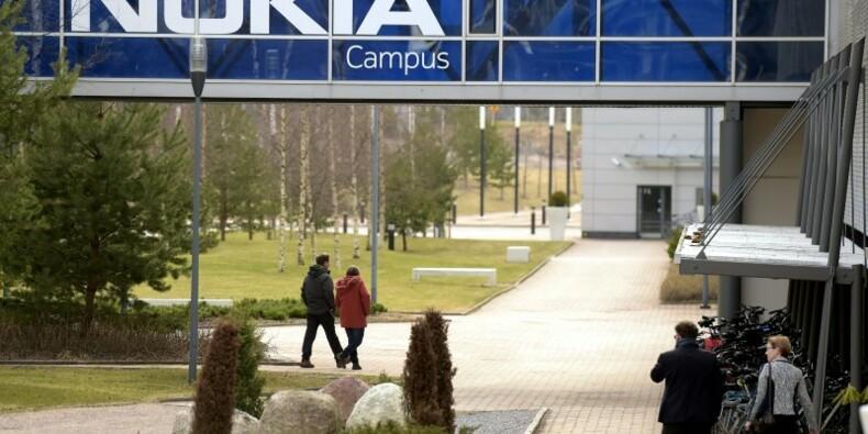 Baisse des ventes de Nokia dans les réseaux au 1er trimestre