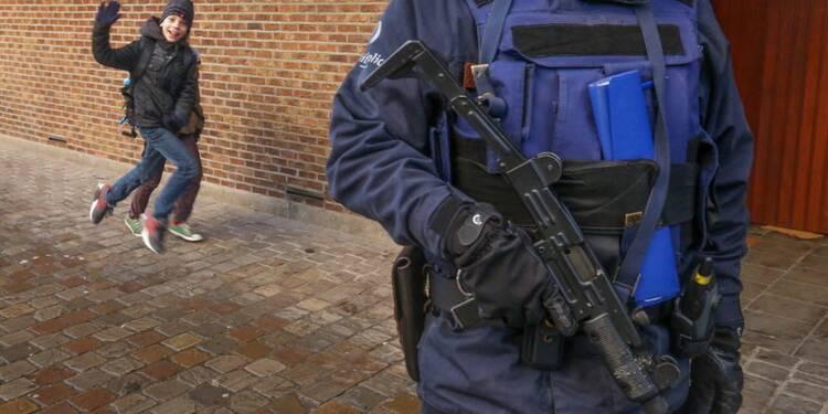 Bruxelles n'est plus en état d'alerte maximale