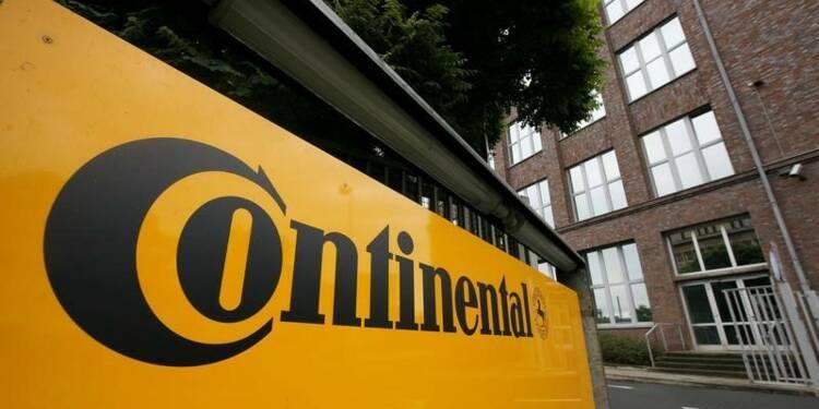 Continental revoit à la hausse son objectif de rentabilité
