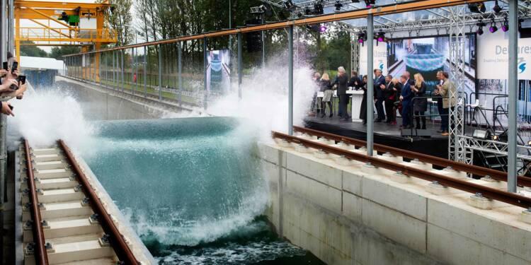 La vague artificielle qui va sauver nos côtes de la montée des eaux