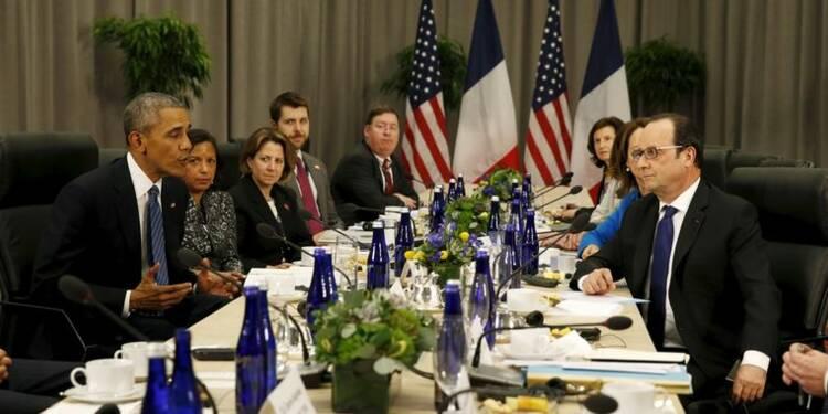 Entretien Obama-Hollande sur la lutte contre le terrorisme